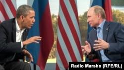 Eski ABD Başkanı Barack Obama ve Rusya Lideri Vladimir Putin