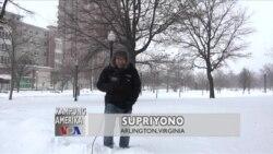 Kampung Amerika: Badai Salju di AS