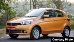 Tata Motors' Zicar, shown here in an photo from the company, will get a new name because of the Zica virus.