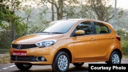 Tata Motors' Zicar, shown here in an photo from the company, will get a new name because of the Zika virus.