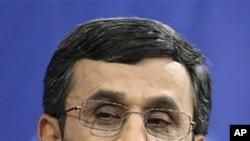Iranian President Mahmoud Ahmadinejad June 7, 2011 (file photo)