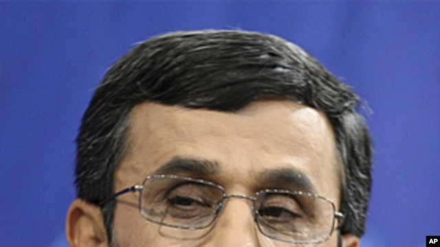 Iranian President Mahmoud Ahmadinejad June 7, 2011 (file photo)