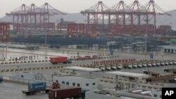 中国的一个港口