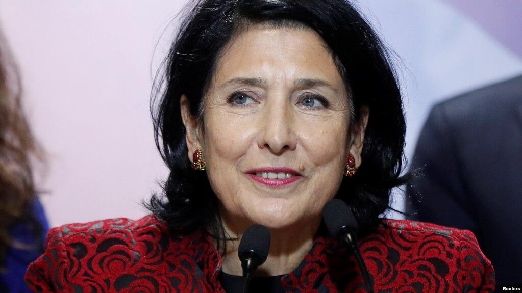 США готовы к сотрудничеству с избранным президентом Грузии Саломе Зурабишвили