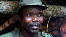 Joseph Kony, chef de la LRA, qui est recherché par la Cour pénale internationale pour crimes contre l'humanité
