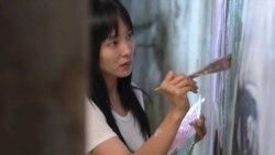 탈북민 주인공 영화 '설지' 속 그림 전시회 열려