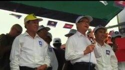 2013-07-20 美國之音視頻新聞: 柬埔寨反對派領袖開始選戰活動