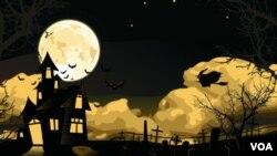 """Haz que la decoración de la """"Noche de Brujas"""" sea una actividad para toda la familia."""
