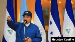 """El presidente de Nicaragua, Daniel Ortega, acusó a la oposición de cometer """"crímenes de odio"""" durante las manifestaciones contra su gobierno en 2018."""