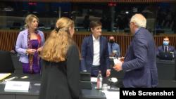Međuvladina konferencija Srbije i EU u Luksemburgu 22. juna 2021. godine