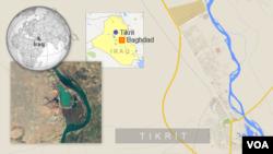 Bản đồ Tikrit, Iraq