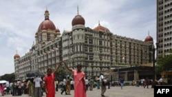 Khách sạn The Taj Mahal ở Mumbai, một trong những địa điểm bị các phần tử khủng bố tấn công năm 2008