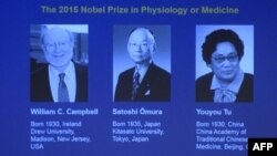 Nobel prize in Medicine - winners