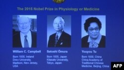 Winners of the Nobel Prize in Medicine