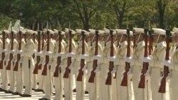 安倍誓言加强国防保卫领土主权