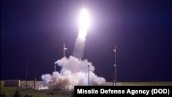 지난 11일 미국 알래스카주 코디악섬에서 고고도미사일방어체계, 사드 요격시험에 성공했다.