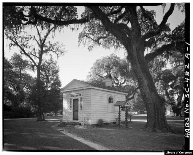 The kitchen building on the Chicora Wood Plantation in Georgetown County, South Carolina.