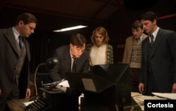 A scene from the movie 'The Imitation Game'