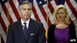 Ông Jon Huntsman, cựu Thống đốc bang Utah, tuyên bố rút ra khỏi cuộc tranh cử hôm 16/1/12