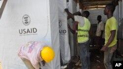 مراکز صحی بیشتر در لایبریا برای تداوی ایبولا درست شده است