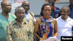 Semida Masika, umurwayi wa nyuma uheretse gusezererwa kwa muganga akize ebola