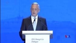 美國防長:中國在南中國海恐嚇鄰國 (粵語)