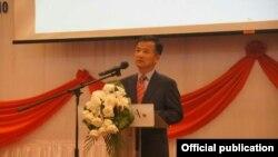 ျမန္မာႏိုင္ငံဆိုင္ရာ ေတာင္ကိုရီးယား သံအမတ္ Yoo Jae- Kyung (ဓါတ္ပံု- Korean Embassy in Myanmar's facebook)