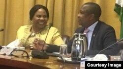 Information Minister Monica Mutsvangwa