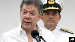 Shugaban Colombia Juan Manuel Santos