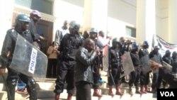 Amapholise ahlome aphelela avimbe umhlangano weMRP ngoLwesithathu koBulawayo.