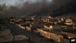 Mosul တိုက္ပဲြအေျခအေန