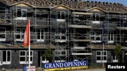 美國新建房屋銷售數量上升到了將近九年來的最高點。