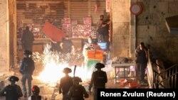 Polisi wa Israel watumia magruneti yanayosababisha moto