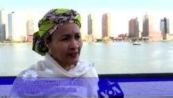 UNGA: Hira Da Ministar Muhalli Ta Najeriya Hajiya Amina J. Mohammed