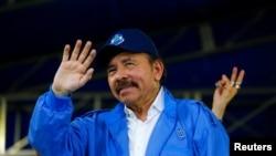 Le président du Nicaragua, Daniel Ortega, à Managua, au Nicaragua, le 7 juillet 2018.