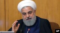 ایران دغه اقدام وروسته له هغه وکړ چې امریکا د ایران د احتمالي برید په ځواب کې خپل نظامي حضور ډیر کړ