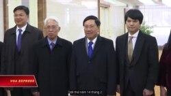 Ngoại Trưởng Việt Nam tới Bình Nhưỡng trong chuyến thăm 3 ngày