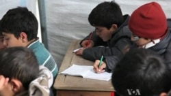 Displaced Syrian Children Struggle for Education
