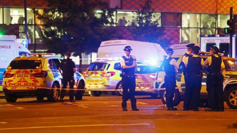 Фургон наехал на пешеходов у лондонской мечети