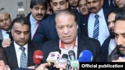 巴基斯坦總理謝里夫。(資料圖片)