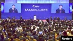 VOA连线(叶兵):习近平讲深化改革开放 推命运共同体不谈人权
