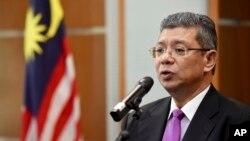 사이푸딘 압둘라 말레이시아 외무장관.
