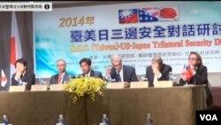 美國、日本的一些國會議員和學者與台灣本地的一些同仁7月1號星期二聚集在台北,圍繞台灣面臨的機會和安全風險舉行了討論。
