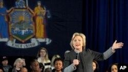 """Kandidatkinja za demokratsku nominaciju Hilari Klinton u Njujorku učestvuje na forumu """"Žene za Hilari"""""""