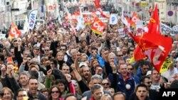 Протести у Франції.