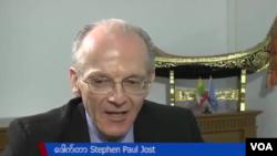 WHO – World Health Organization - ကမာၻ႔က်န္းမာေရးအဖြဲ႔ ဌာေနကိုယ္စားလွယ္ Dr. Stephan Paul Jost
