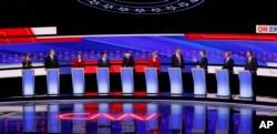 The Democratic Debate, July 30, 2019.