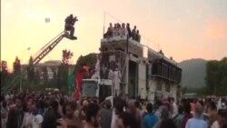 巴基斯坦警察將抗議者驅離國家電視台
