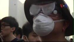 Căng thẳng tăng cao ở Hồng Kông, cảnh sát chuẩn bị đạn cao su ứng phó