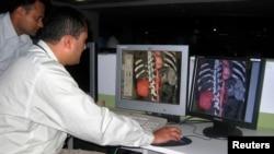 (FILE) Textile Telemedicine